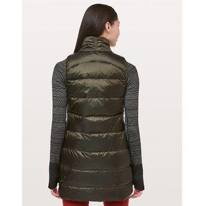 lululemon athletica Jackets & Coats - Lululemon NWT All Days Vest in Dark Olive Size 8